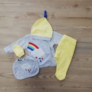 Бебешки комплект Дъга