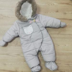 Космонавт с котенце