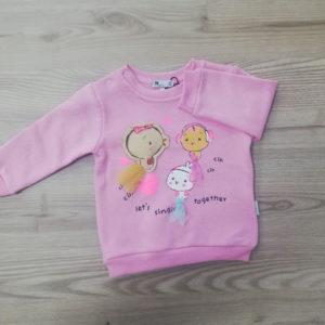 Ватирана бебешка блуза