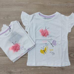 Тениска с пеперудки